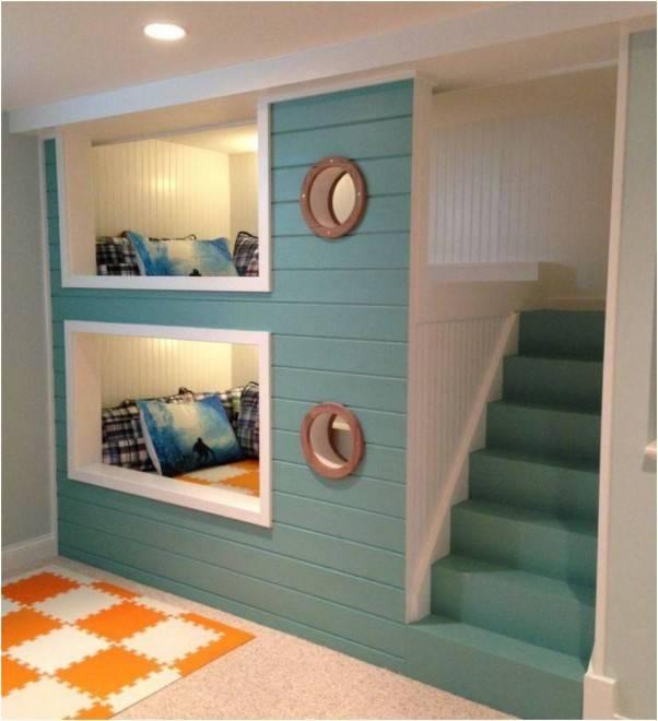 Двухэтажная детская кровать