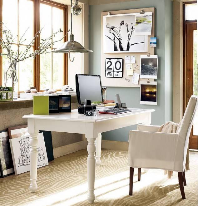 Рабочий стол дома фото