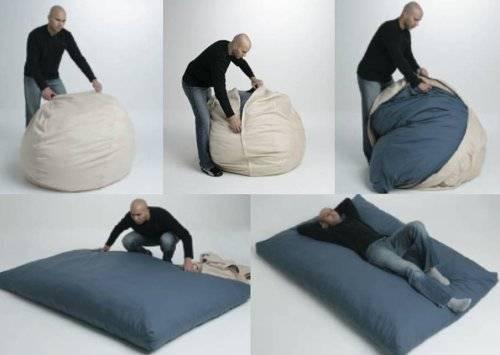 150725-кресло-мешок, кровать