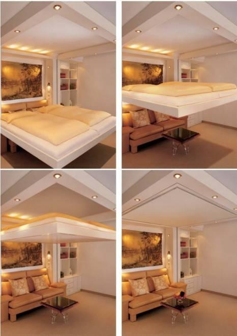 кровать-лифт фото
