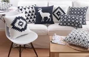 Декоративные подушки Скандинавия