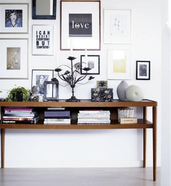 Рамки на стене фото