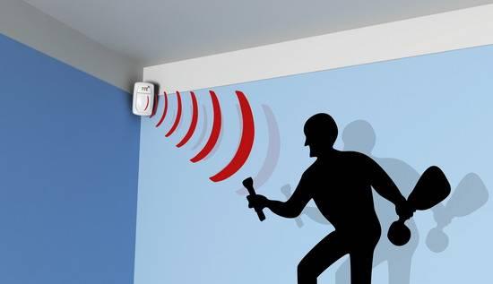 Система безопасности, датчики движения