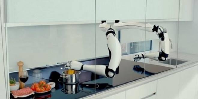 робот шеф-повар фото