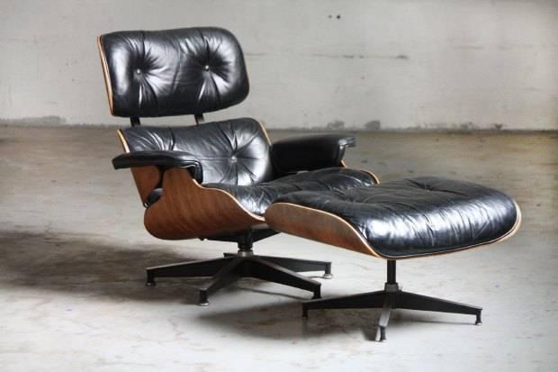 кресло Eames Lounge and Ottoman