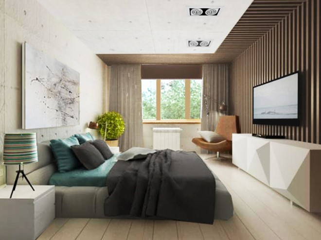 спальня проект Измайловой Марины