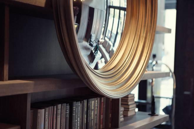 оформление зеркала в стиле арт деко