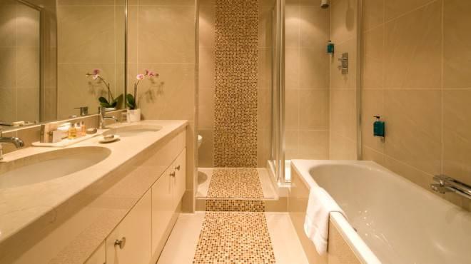 ванная арт деко в интерьере