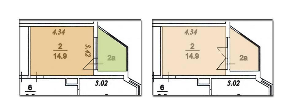 Перепланировка квартиры casual home.
