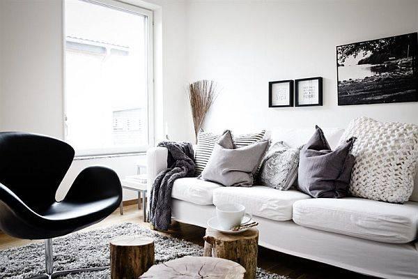 зимний стиль в квартире