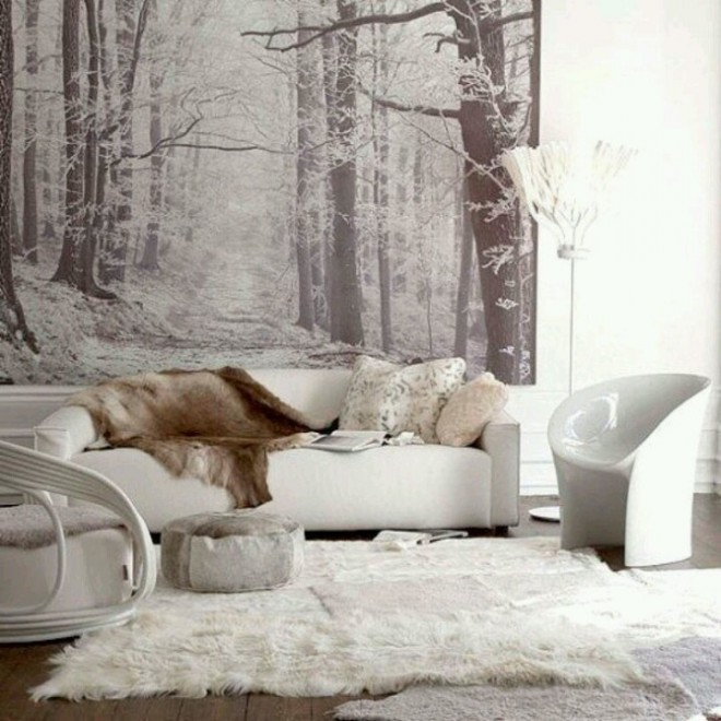 зимний вариант квартиры