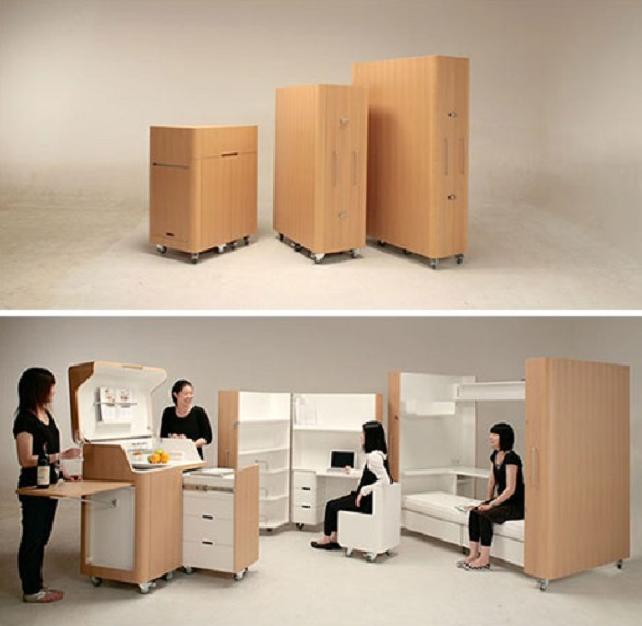 пример умной мебели