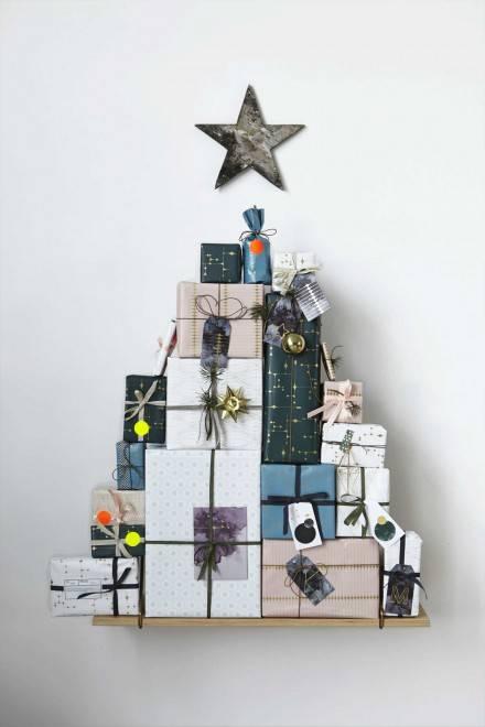 елка из подарков