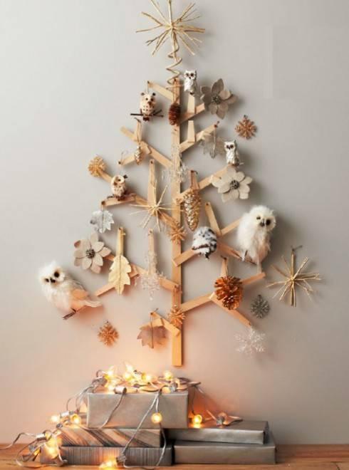 совы и елки