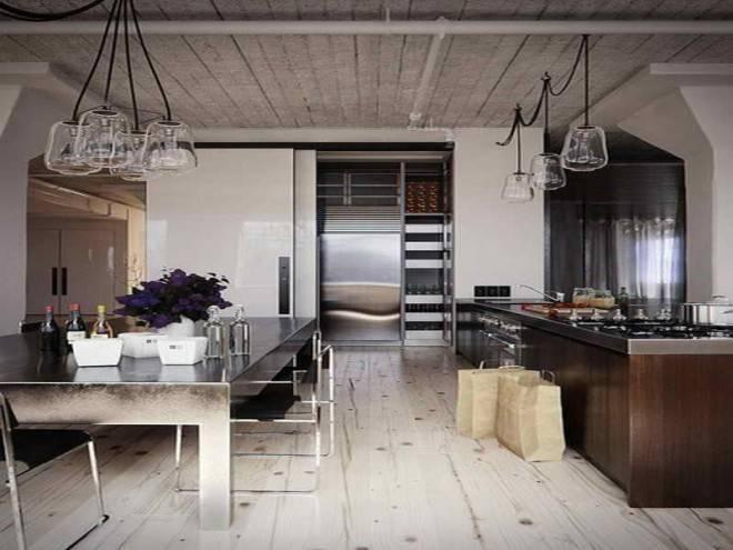 пример помещения которое оформил дизайнер