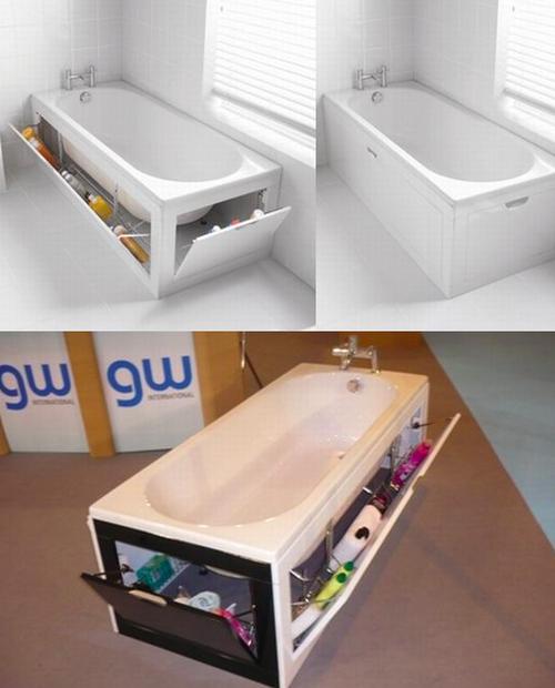 пример экранов для ванн