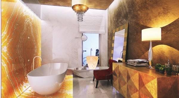 В коллекцию! Необычные ванные для загородного дома