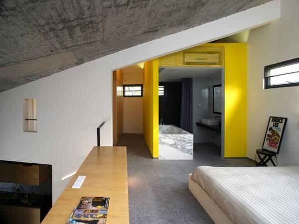 желтые элементы в дизайне