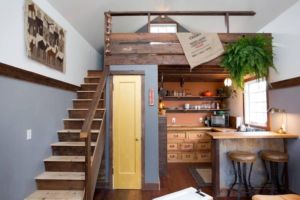 Дизайн загородного маленького дома 8