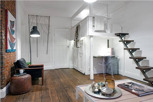 пример помещения лофт