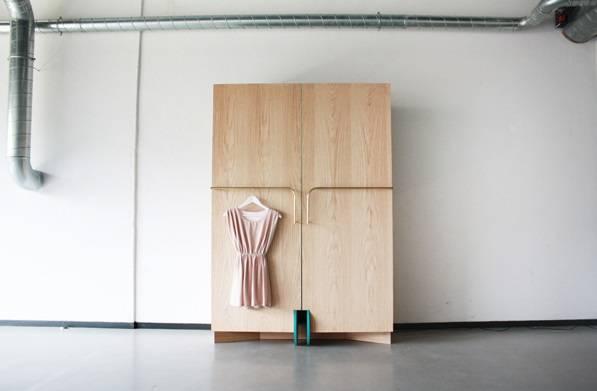 пример дизайна гардероба