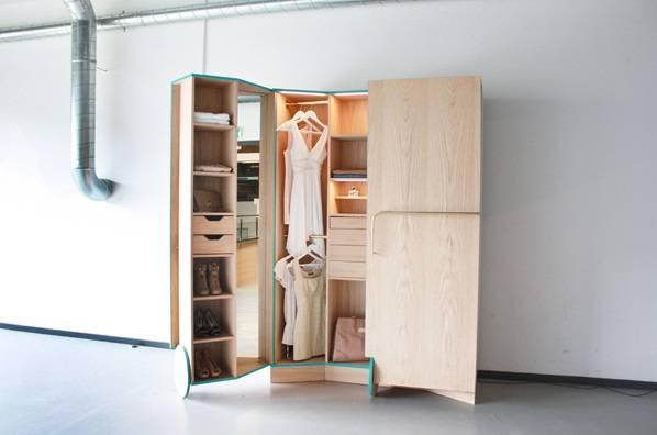пример дизайна гардеробной