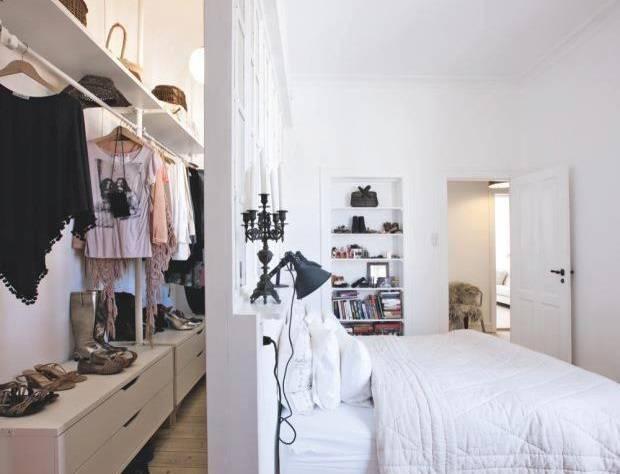 пример гардеробной
