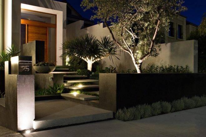 Подсветка на улице