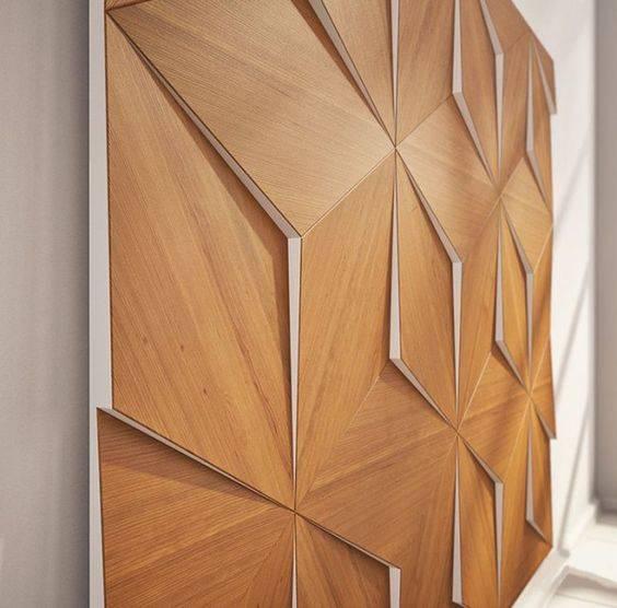 деревянные 3D-панели