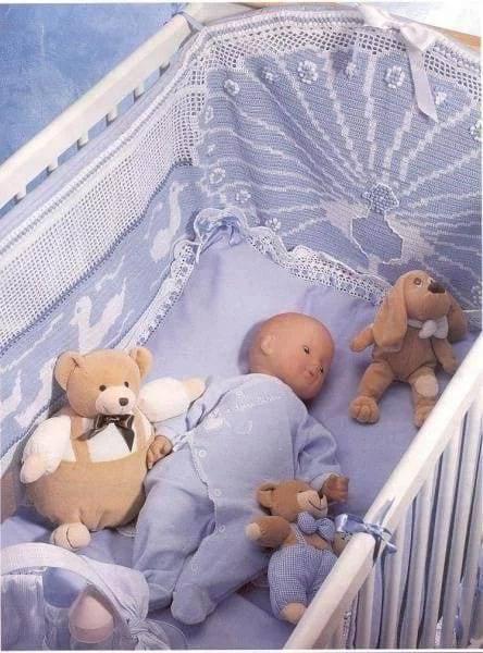 Аксессуары в кроватку